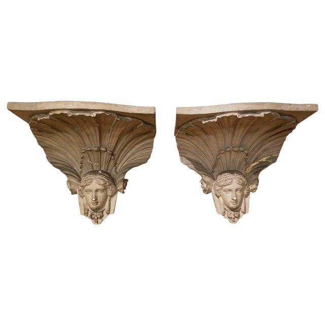 Empire Figural Architectural Bracket - 19th Century For Sale