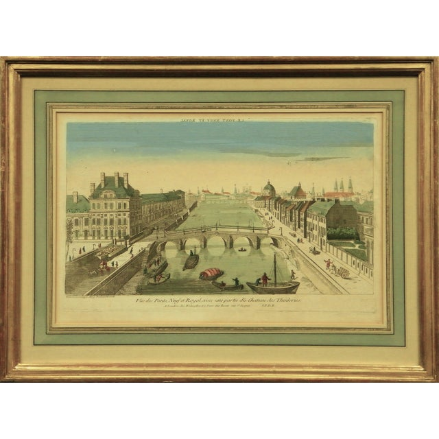 Le Pont Neuf Et Royal Engraving For Sale - Image 5 of 5