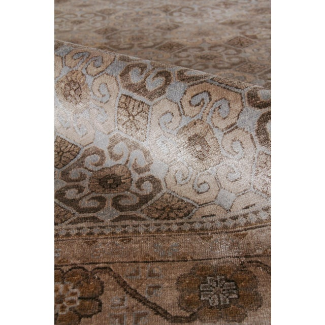 Not Yet Made - Made To Order Fine Khotan Hand knotted Bamboo/Silk Camel/Ivory Rug-8'x10' For Sale - Image 5 of 11