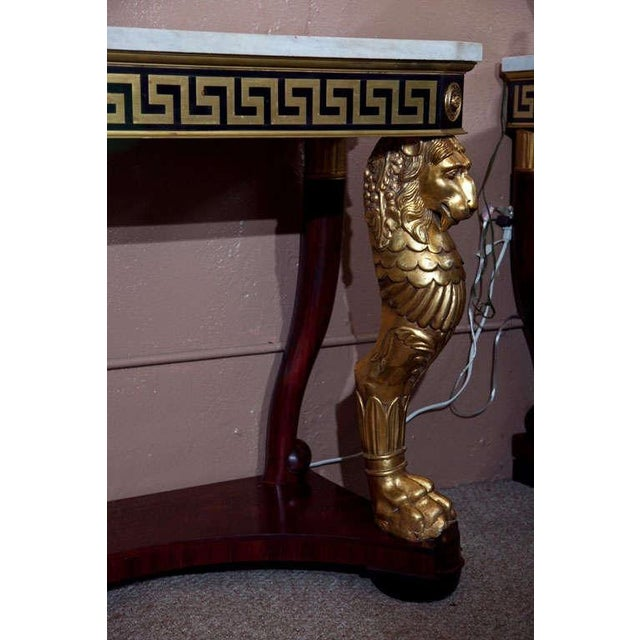 Neoclassical Consoles by Jansen - A Pair - Image 6 of 10