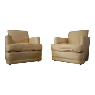 Fabulous Pair of Lounge Chairs For Sale