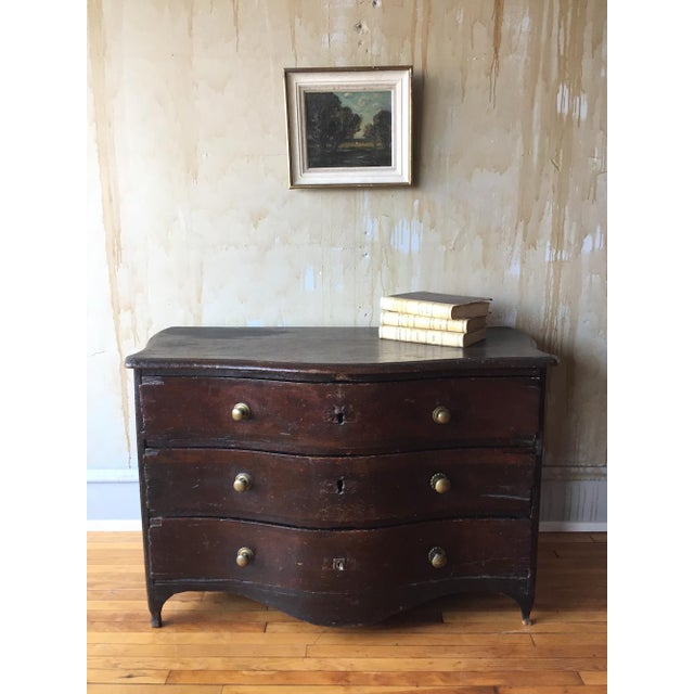 French Rustic 18th Century Chest of Drawers For Sale - Image 3 of 13