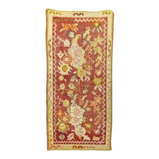 Red Turkish Rug, 2' X 3'11'' For Sale