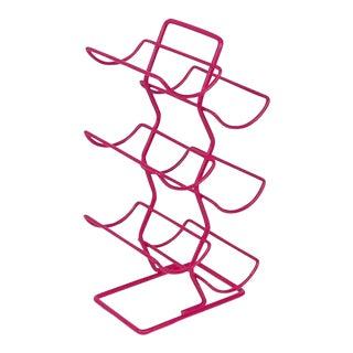 Pink Wine Bottle Rack