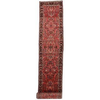 "Antique Persian Mehraban Runner - 2'9"" X 20'11"" For Sale"