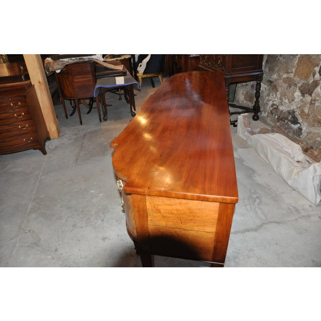 Early 19th C. Georgian Mahogany Sideboard For Sale In Boston - Image 6 of 8