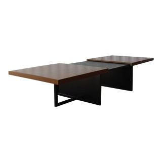 1960s Mid Century Modern Expandable Coffee Table For Sale