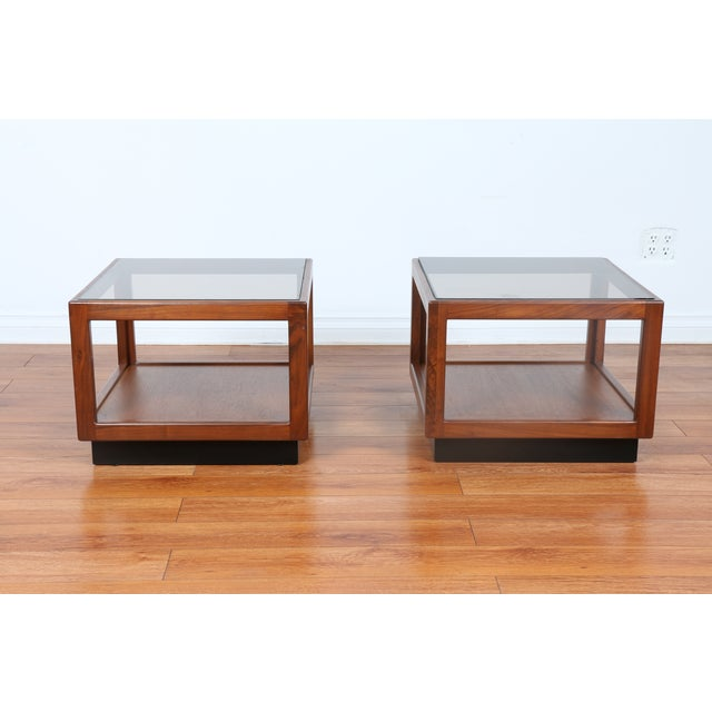 Brown & Saltman Side Tables- A Pair - Image 3 of 10