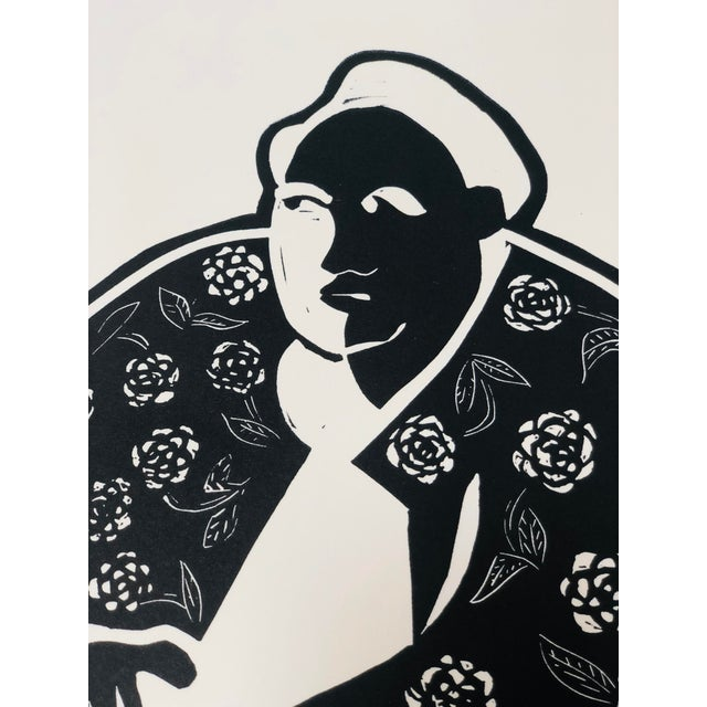 Jack McCarthy Contemporary Linocut Print For Sale - Image 4 of 9