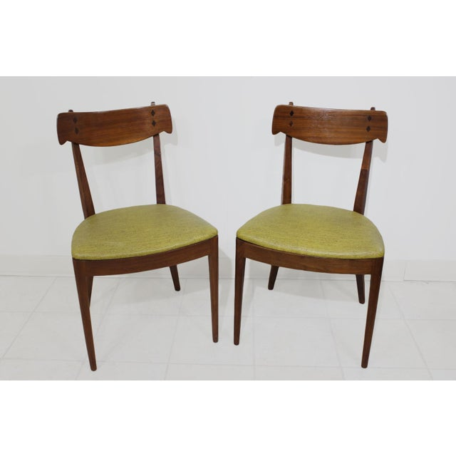 Danish Modern Kipp Stewart for Drexel Declaration Chairs - Set of 4 For Sale - Image 3 of 8