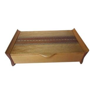 Custom Made Artisan Inlay Jewelry Box