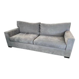 Axis II 2 Seat Charcoal Sofa For Sale