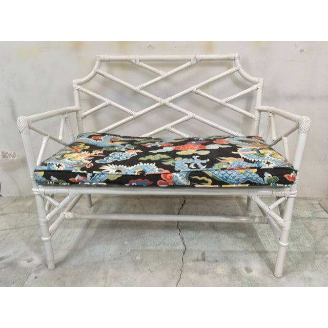 Chinese Chippendale Style Settee For Sale - Image 4 of 6