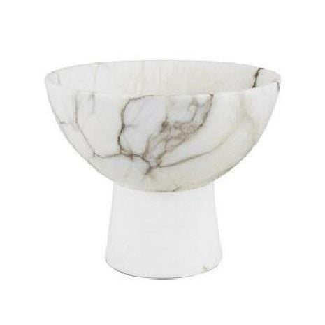 2010s Chellaston Alabaster Bowl For Sale - Image 5 of 5