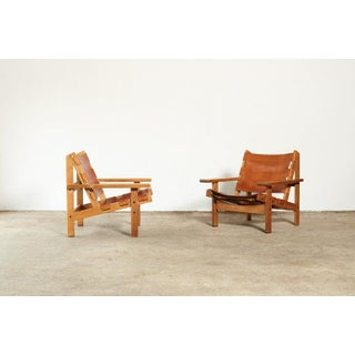 Pair of Kurt Ostervig / Erling Jessen Hunting Chairs, Denmark, 1960s Preview