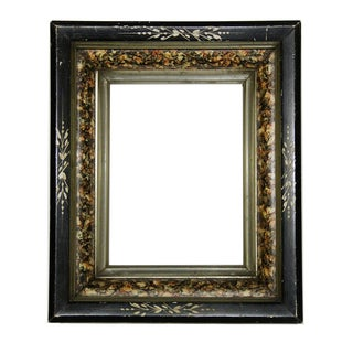 Antique American Ebonized Wood Frame For Sale
