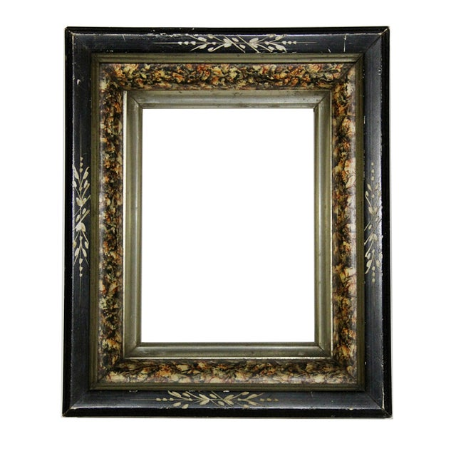 Antique American Ebonized Wood Frame - Image 1 of 5