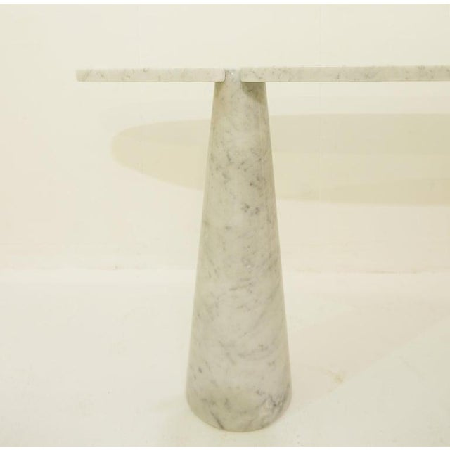 Angelo Mangiarotti Console in Marble by Angelo Mangiarotti For Sale - Image 4 of 6