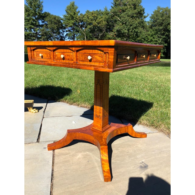 Side Table, Biedermeier Period For Sale - Image 4 of 11