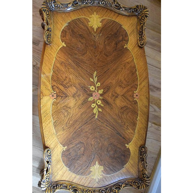 Early 20th Century Antique Tonk French Court Galleries Coffee Table For Sale - Image 11 of 13