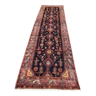 Persian Malayer Runner - 3′6″ × 12′2″