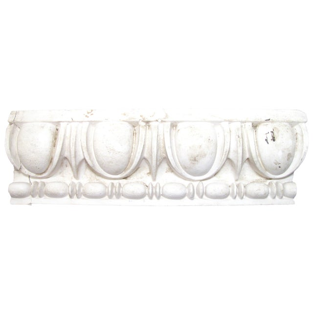 Antique Plaster Architectural Element For Sale