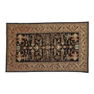 Vintage Persian Mahal William Morris Inspired Rug - 06'04 X 10'04 For Sale