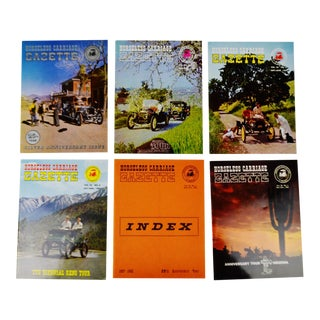Horseless Carriage Gazette Magazines - 1962 Full Year - Collectible