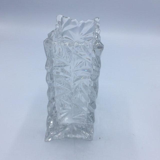 Rosenthal Studio Line Crystal Bag Vase Chairish
