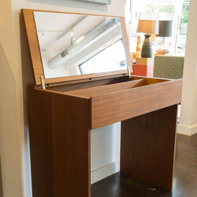 Danish Modern Teak Vanity - Image 4 of 4