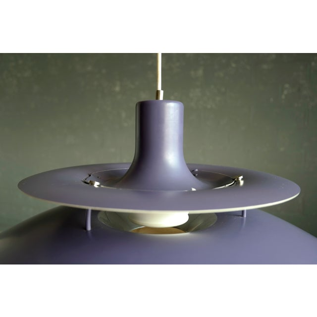 Poul Henningsen for Louis Poulsen Purple Model PH-5 Pendant Lamp - Image 4 of 7