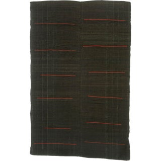 20th Century Vintage Kilim Composition Rug- 6′3″ × 9′7″ For Sale