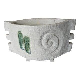 Vintage Banko-Yaki Mid-Century Modern Japanese Art Pottery Vessel