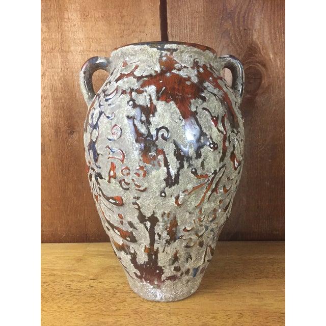Boho Raised Glaze Vase - Image 4 of 9