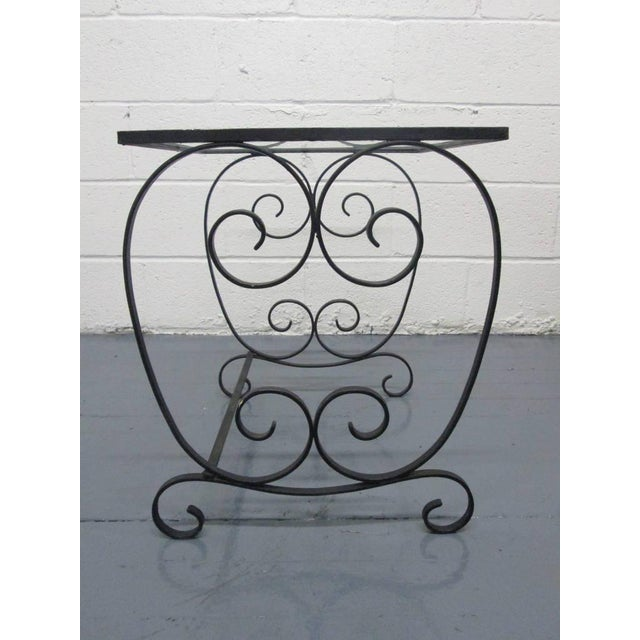 French Two Pairs of French Wrought Iron Nest of Tables For Sale - Image 3 of 5