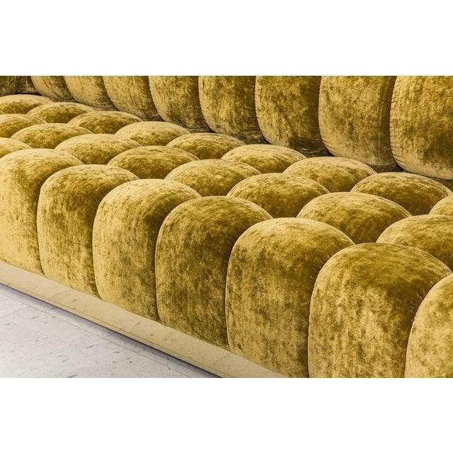 Art Deco Todd Merrill Custom Originals Standard Tufted Sofa, 2016 For Sale - Image 3 of 5