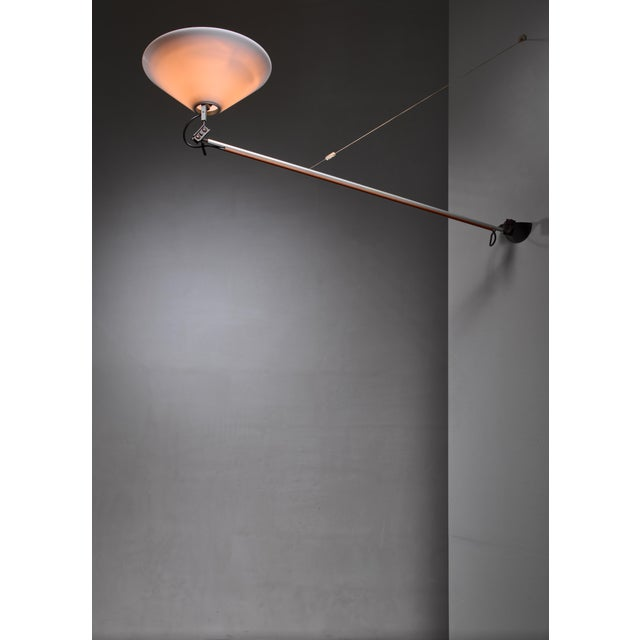 1970s Enzo Mari Aggregato Wall Lamp for Artemide For Sale - Image 5 of 6