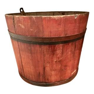Primitive Amish Sap Bucket For Sale