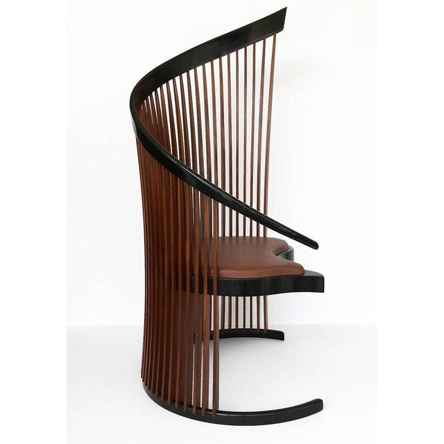 Animal Skin Pair of Paso Doble Sculptural Chairs by Thomas Stender For Sale - Image 7 of 11