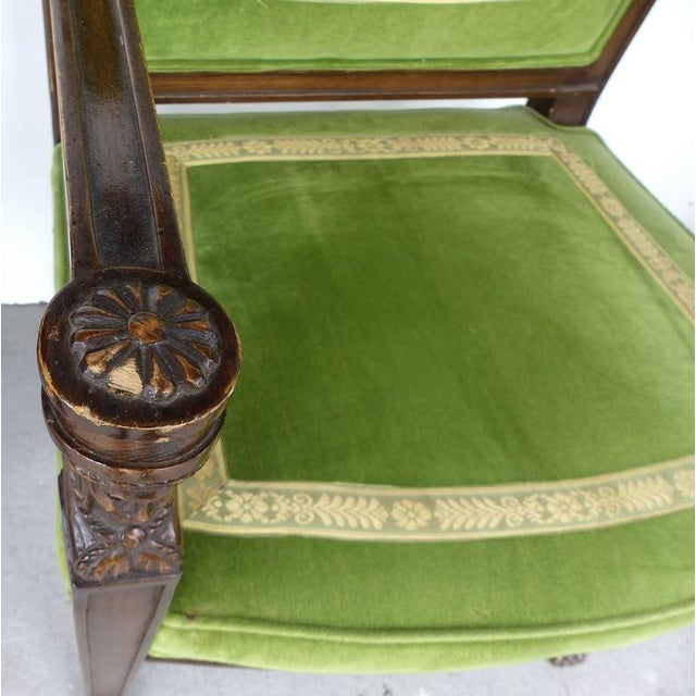 20th Century Renasaince Cocheo Bros, Fine Quality Chairs - A Pair For Sale - Image 9 of 11