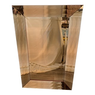 Global Views Rose Gold Ada's Mirror Rectangular Mirror For Sale