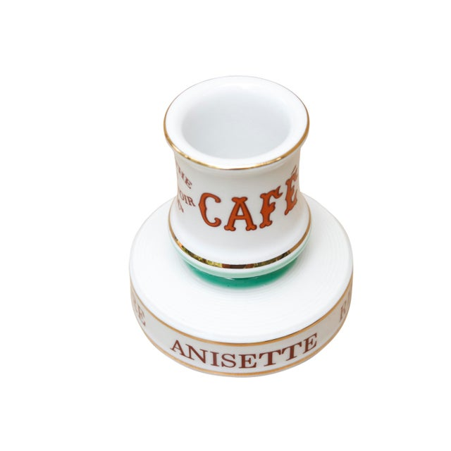 Parisian Cafe French Ceramic Match Striker For Sale - Image 4 of 6