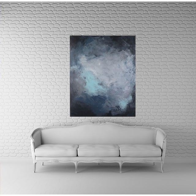 """""""Dark Sky"""" Abstract Art by Kris Gould - Image 2 of 5"""