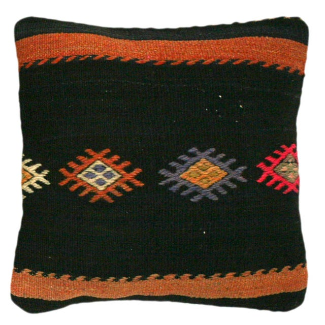 Talk about adding a pop of color and individuality to a room! Each of our Kilim Pillows is cut from a vintage and or...
