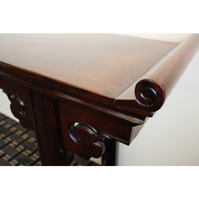 McGuire Asian Antiquity Long Altar Table - Image 4 of 7
