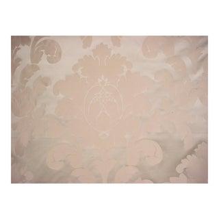 Brunschwig & Flis Sylvana Zinc Floral Damask Upholstery Fabric - 9 3/4 Yards For Sale