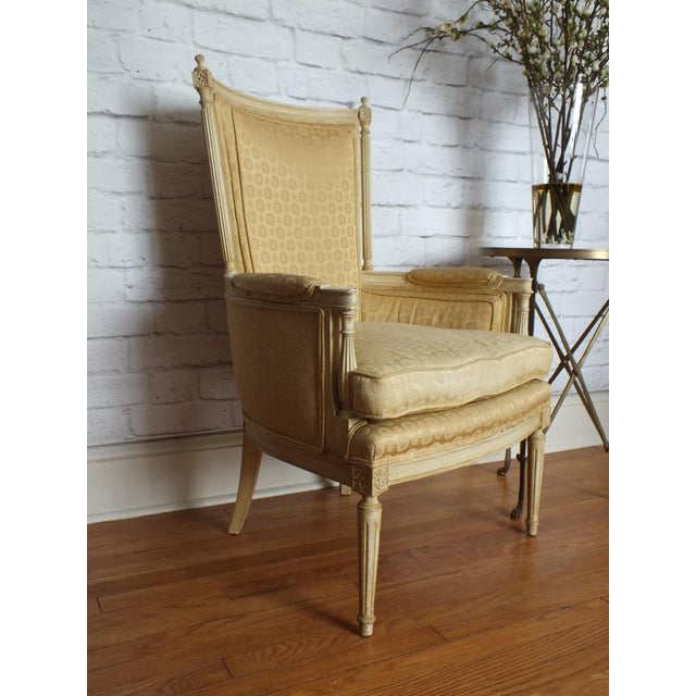 French Directoire Louis XVI Fauteuil - Image 2 of 11