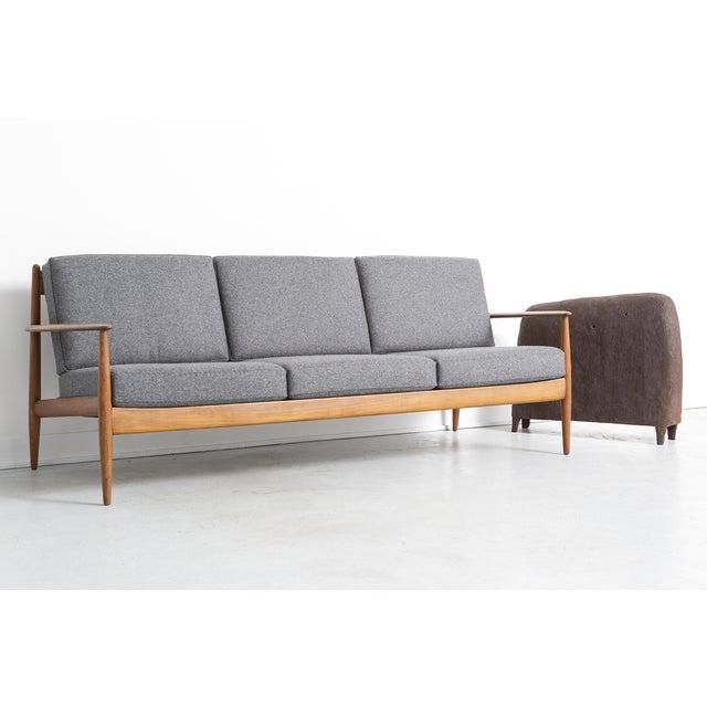 Grete Jalk for France + Daverkosen Teak Wood Sofa - Image 10 of 11