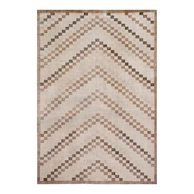 Mansour Quality Handmade Turkish Rug - 5′1″ × 7′3″ For Sale
