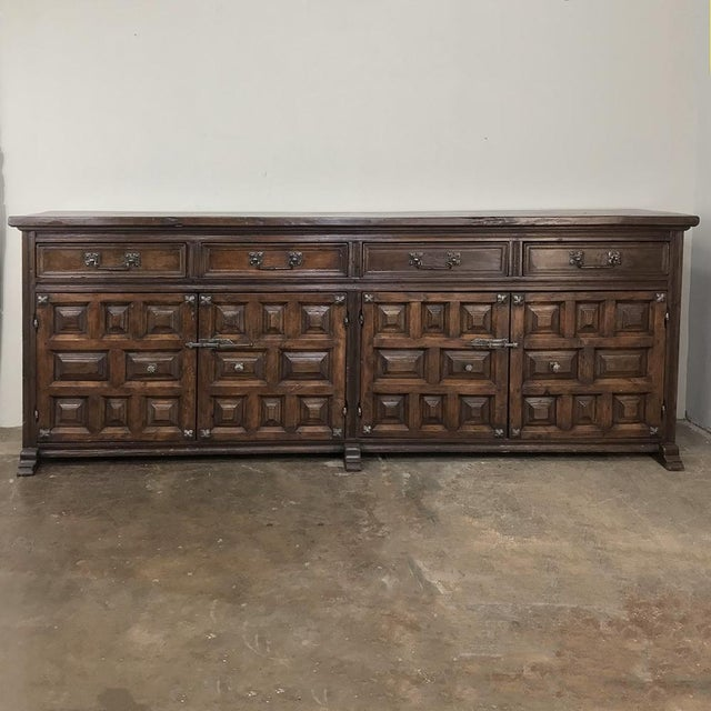 19th Century Grand Spanish Buffet For Sale - Image 13 of 13